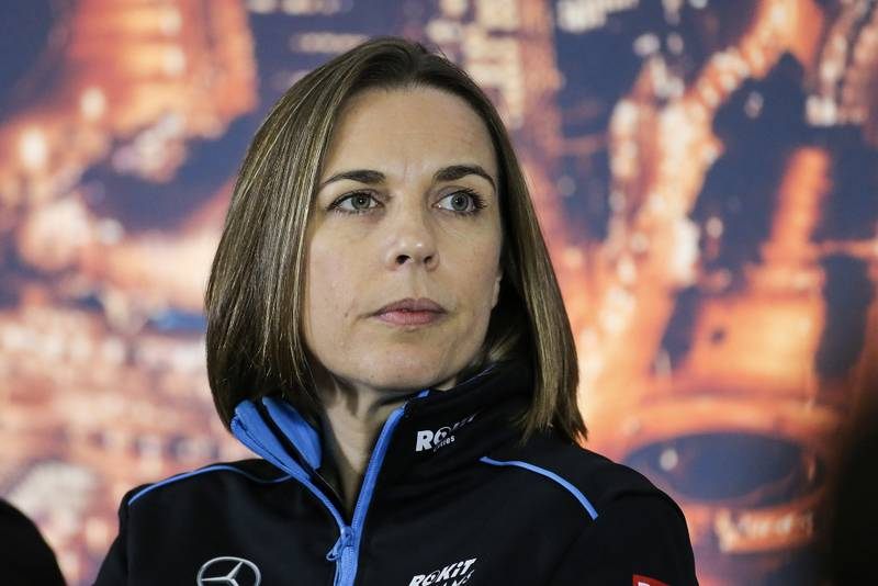 Claire Williams: 'Last year was shameful; now the pride is back'