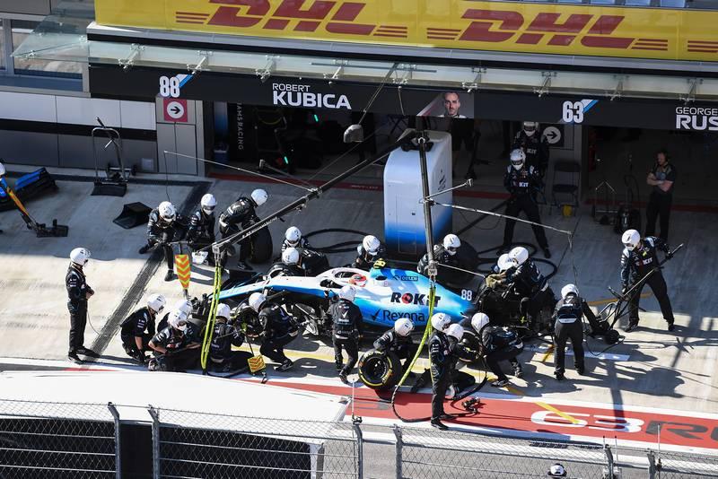 Williams 2019 pitstop
