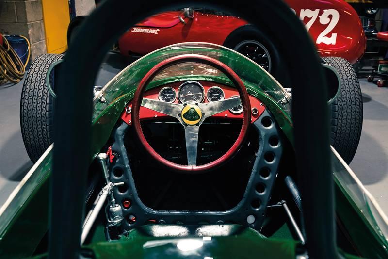 Lotus 22 interior