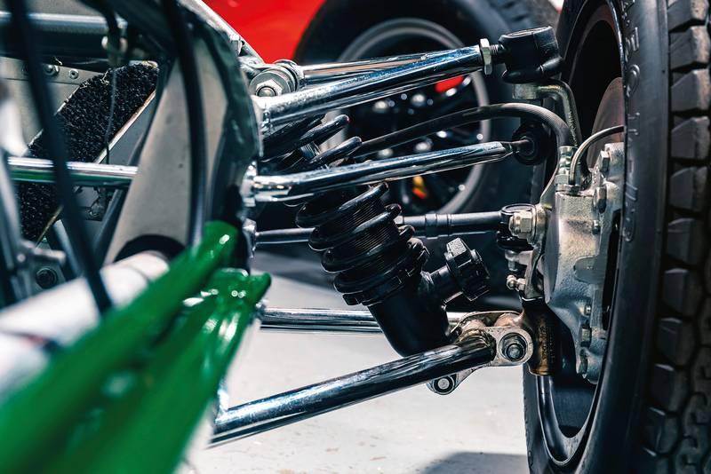 Lotus 22 suspension