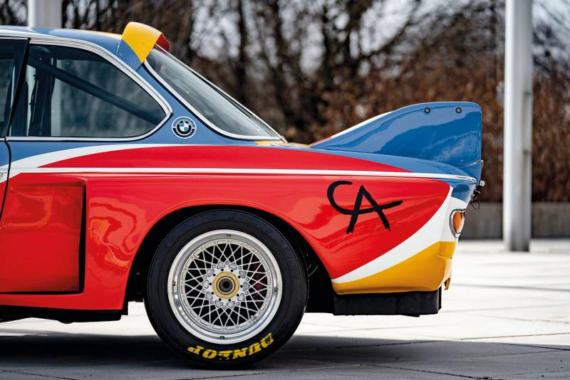 BMW CSL art car
