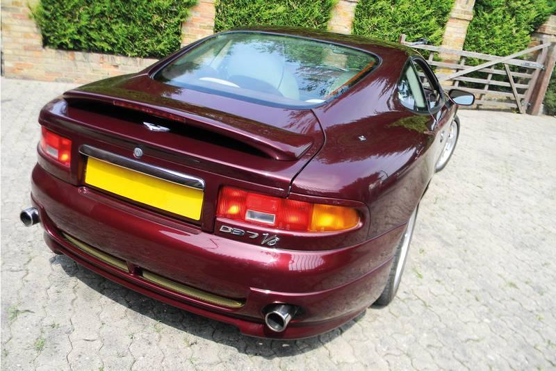 Aston Martin DB7 rear