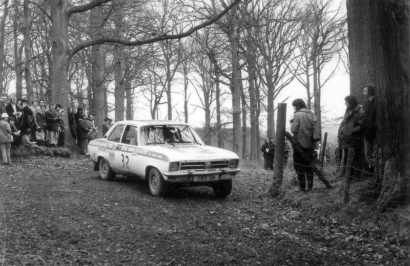 Opel Ascona on Forest of Dean Rally