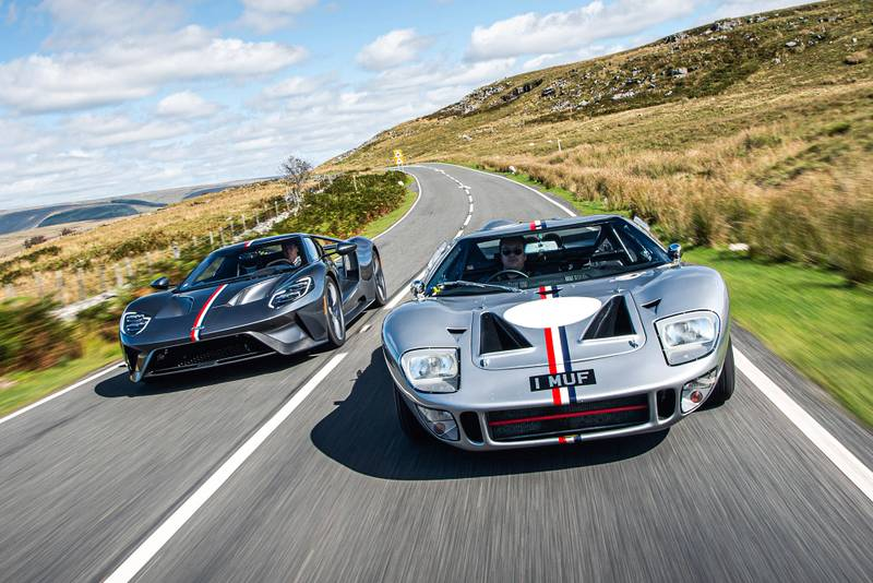 Ford Gts driving