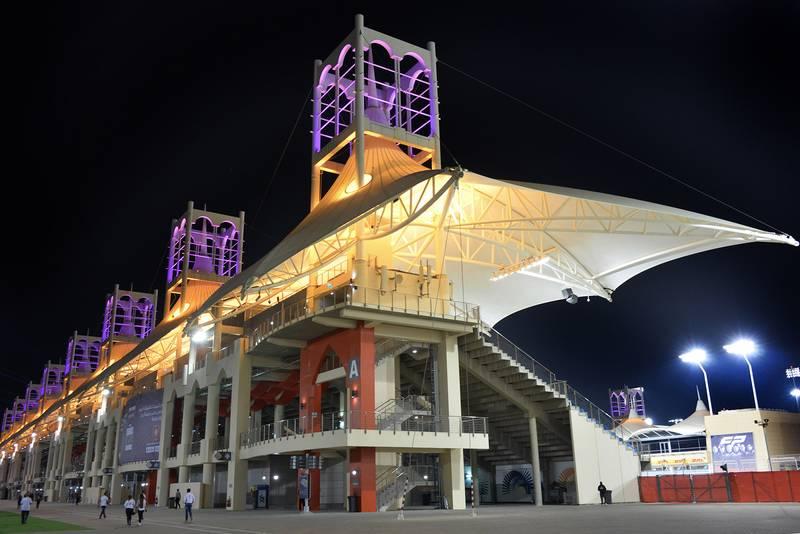 Bahrain circuit grandstand
