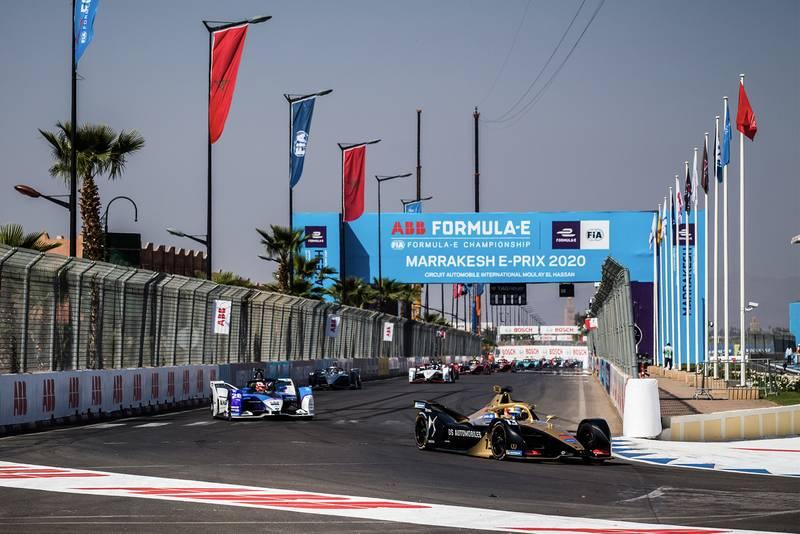 The 2020 Marrakesh ePrix