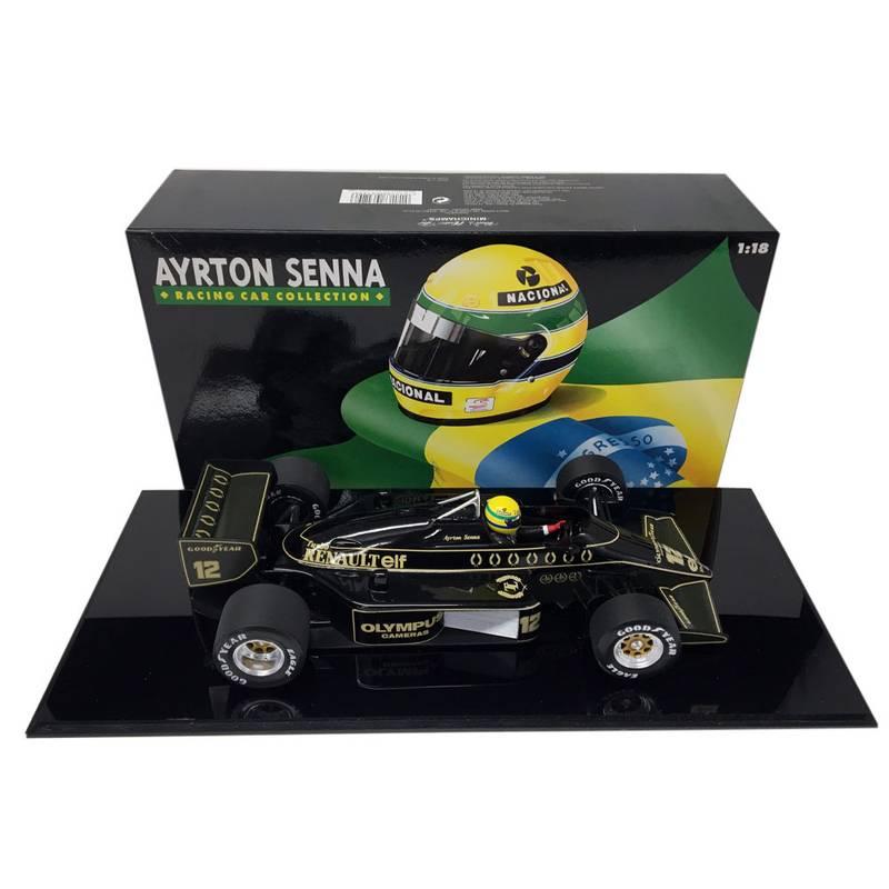 Product image for Ayrton Senna, Lotus Renault 97T, 1:18 Minichamps