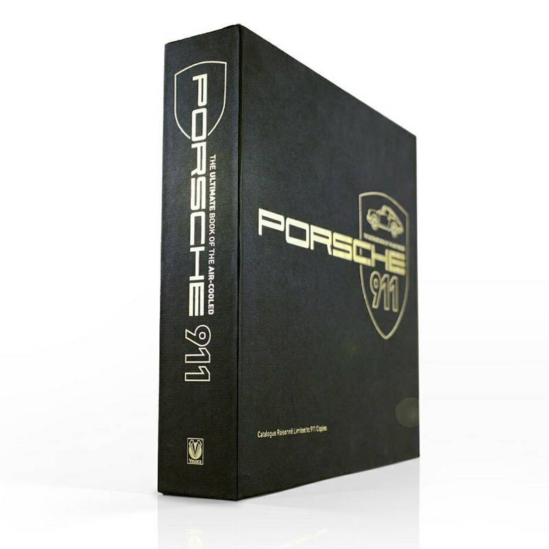 Product image for The Ultimate Book of the Air-cooled Porsche 911 | Catalogue Raisonné | Limited Edition Book | Hardback