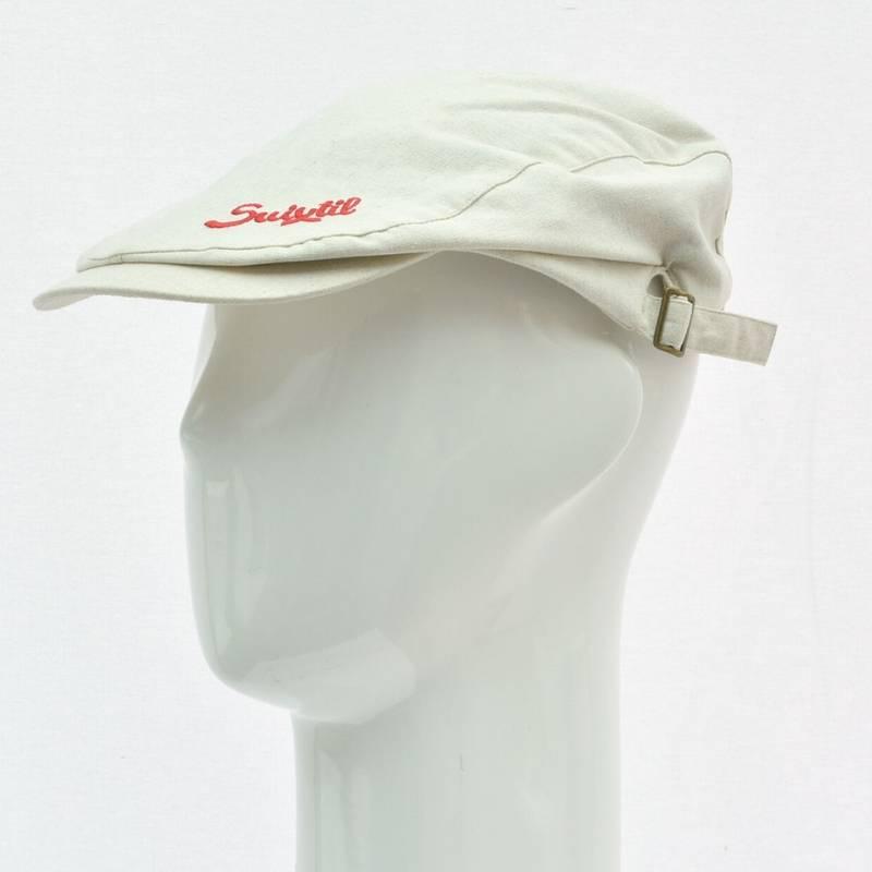 Product image for Race Cap | Beige Linen | Suixtil