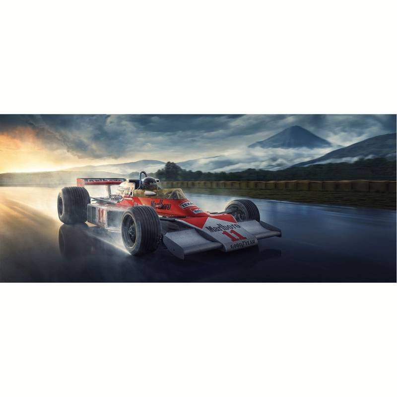 Product image for Hunting For Victory | James Hunt - McLaren - 1976 | Automobilist | artwork