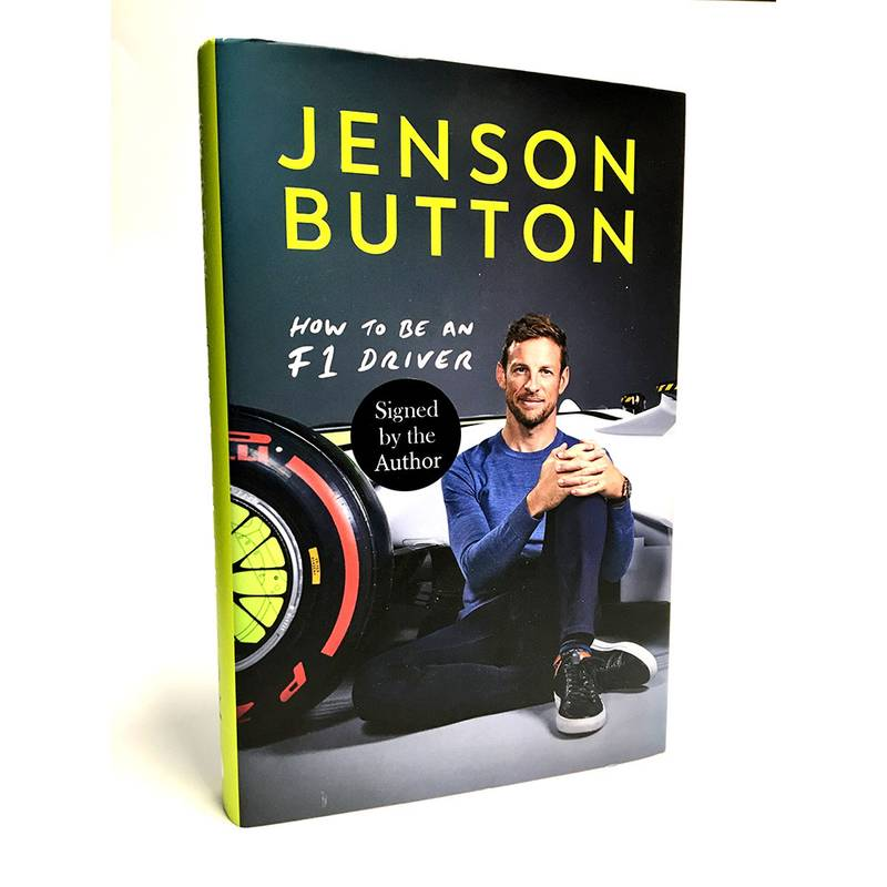 Product image for Jenson Button: How to be an F1 Driver | Book | Hardback | signed Jenson Button