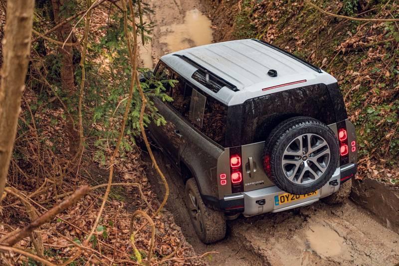 2020-LAnd-Rover-Defender-off-road-rear