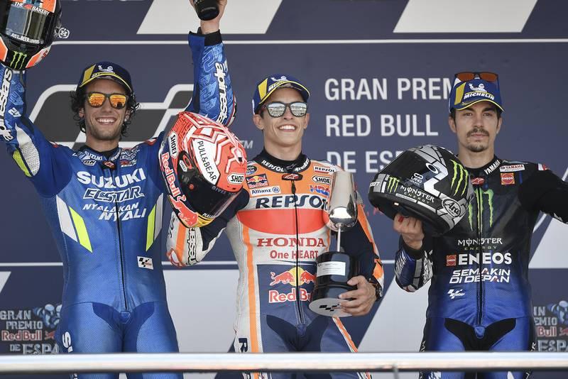 Márquez, Viñales & Rins to battle in MotoGP virtual race