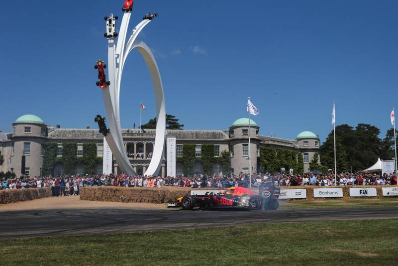Red Bull at the Goodwood Festival of Speed