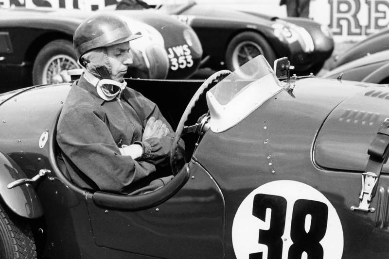 Tony Brooks at ther 1954 Goodwood Members' Meeting