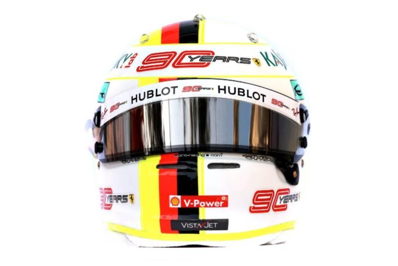 Sebastian Vettel 2019 helmet