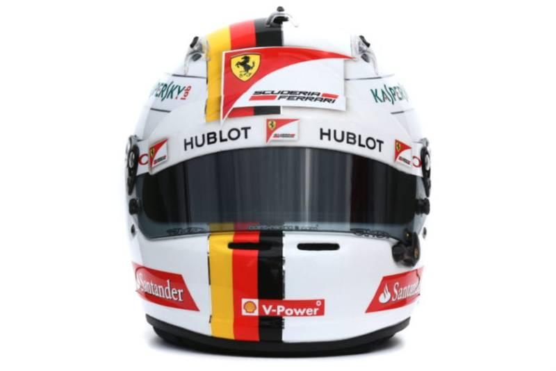 Sebastian Vettel 2015 helmet