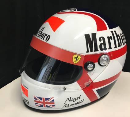 Product image for Nigel Mansell | full size helmet | 1990 Ferrari