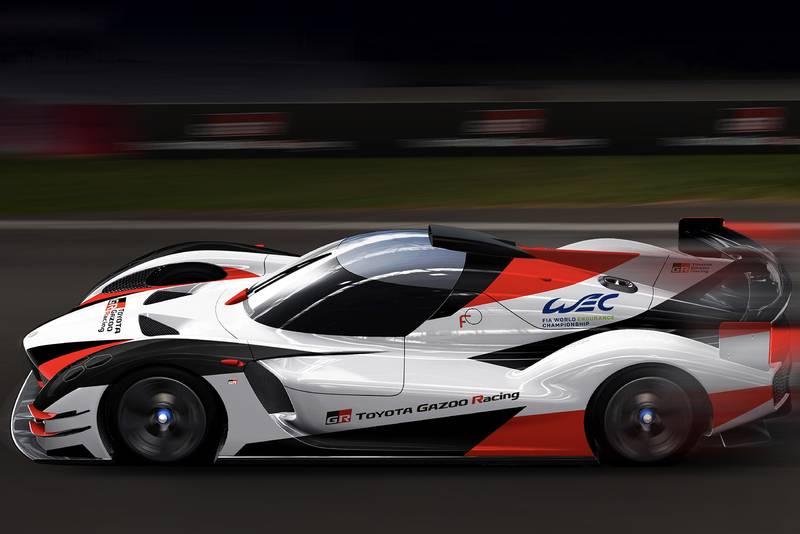 Toyota GR Super Sport hypercar