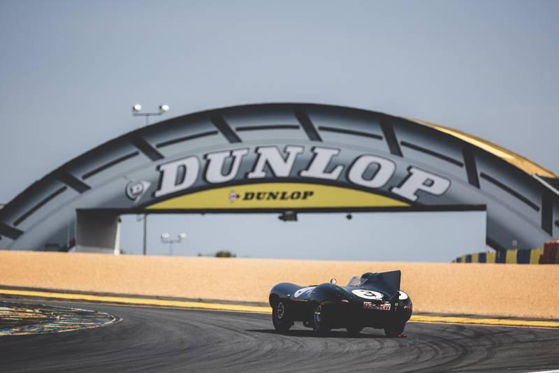 Le Mans Classic Jaguar Dunlop Bridge