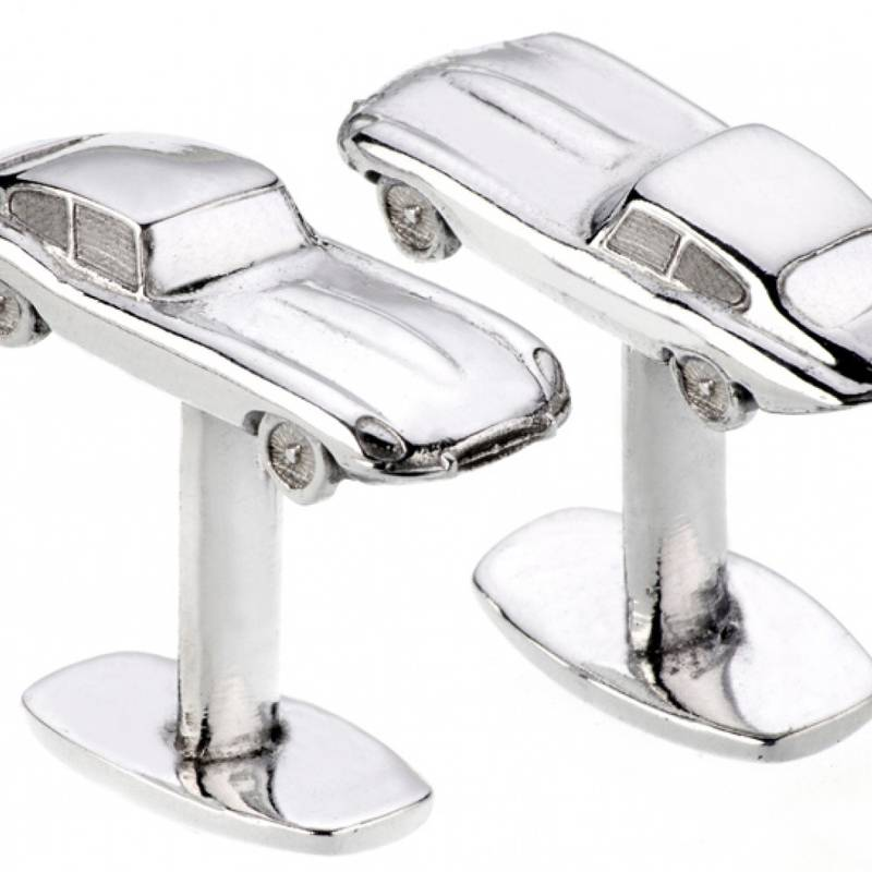 Product image for Jaguar E-Type - Upcycled | Limited Edition | Cufflinks