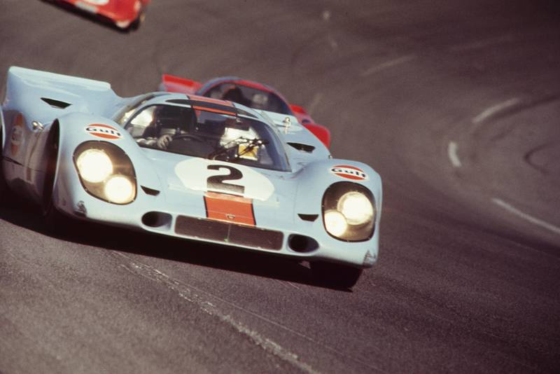 Porsche 917k at 1970 Daytona 24 Hours