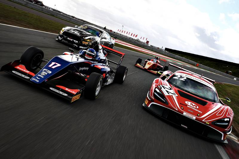 British GT and F3 cars 2020