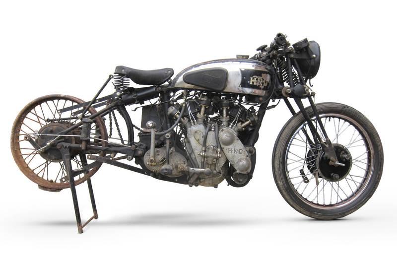 1938 Vincent-HRD Rapide Series A