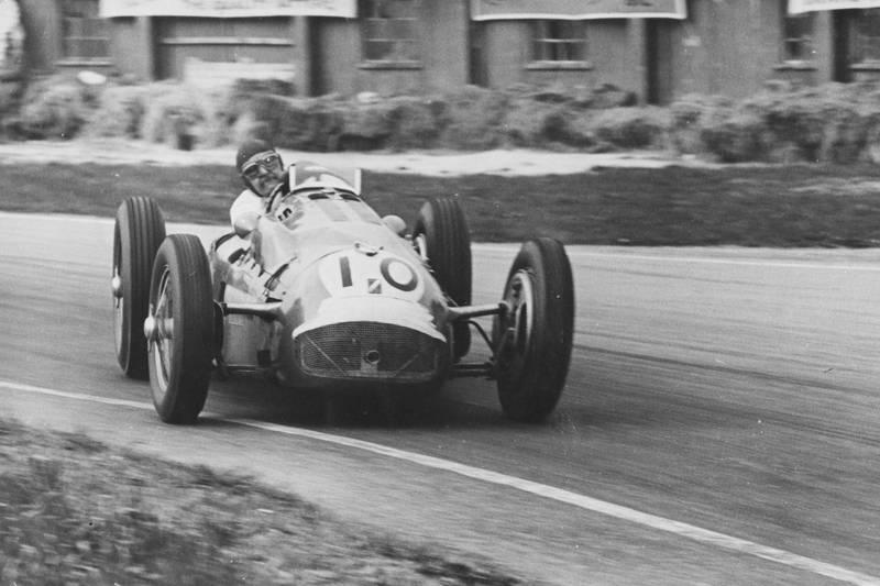 The larger than life sports car racer, Duncan Hamilton
