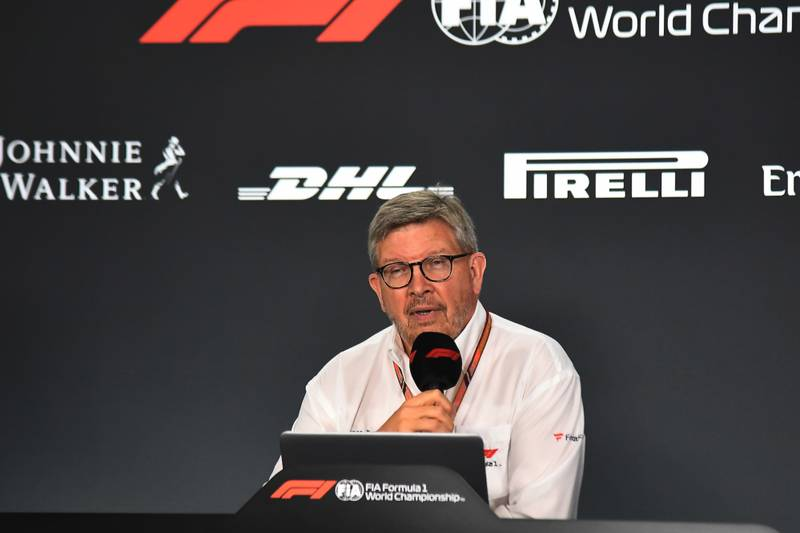 Ross Brawn during the 2019 Singapore GP weekend