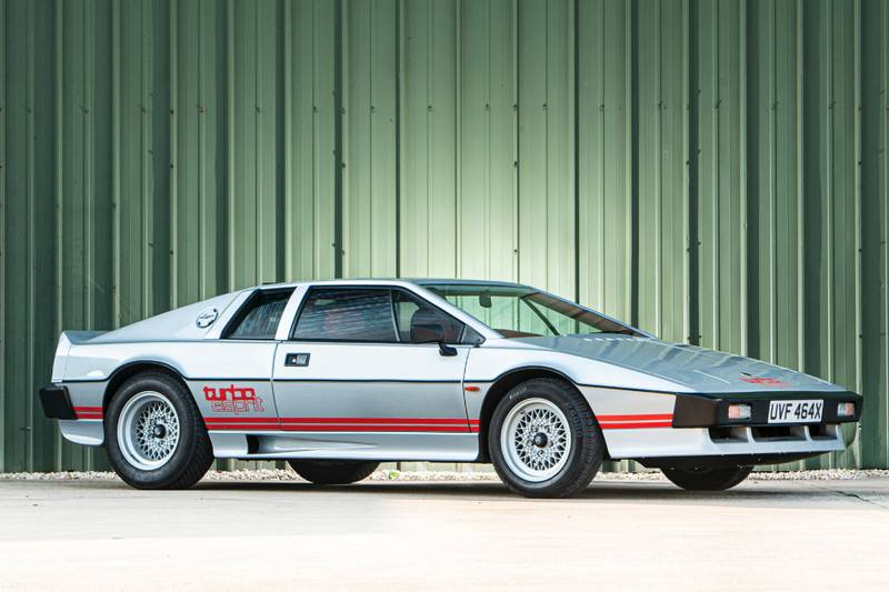 Colin Chapman's personal Lotus Esprit up for sale