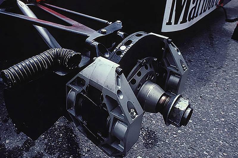 McLaren MP4/2 C carbon brake