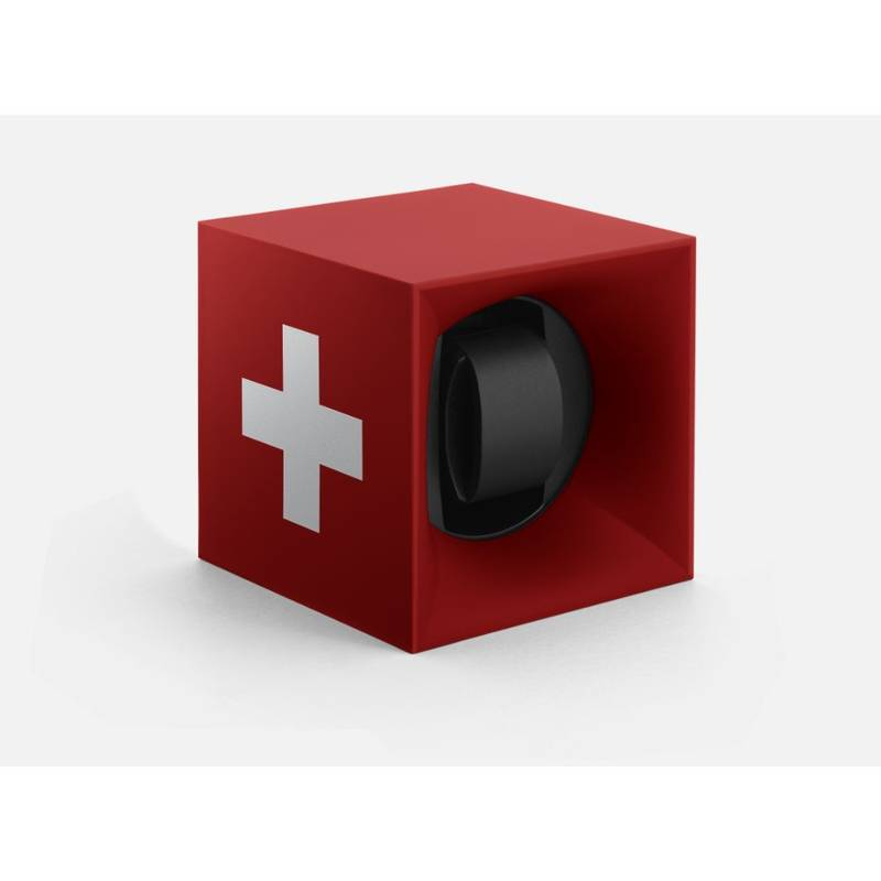 Product image for Swiss Kubik | Startbox Red Swisscross | Watch Winder