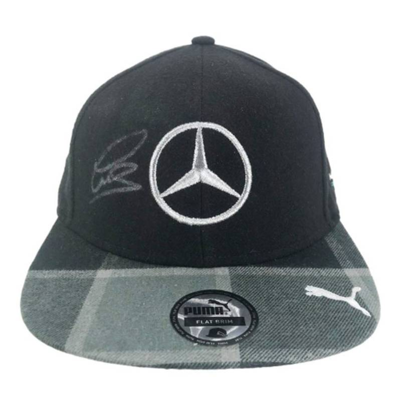 Product image for Signed Lewis Hamilton Flat Cap – F1 World Champion
