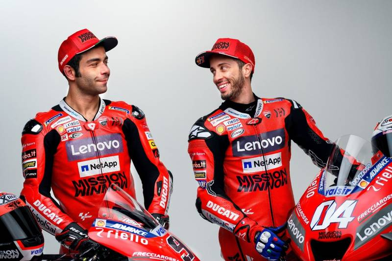 "Petrucci: ""I don't want Ducati to put me against Dovizioso"""