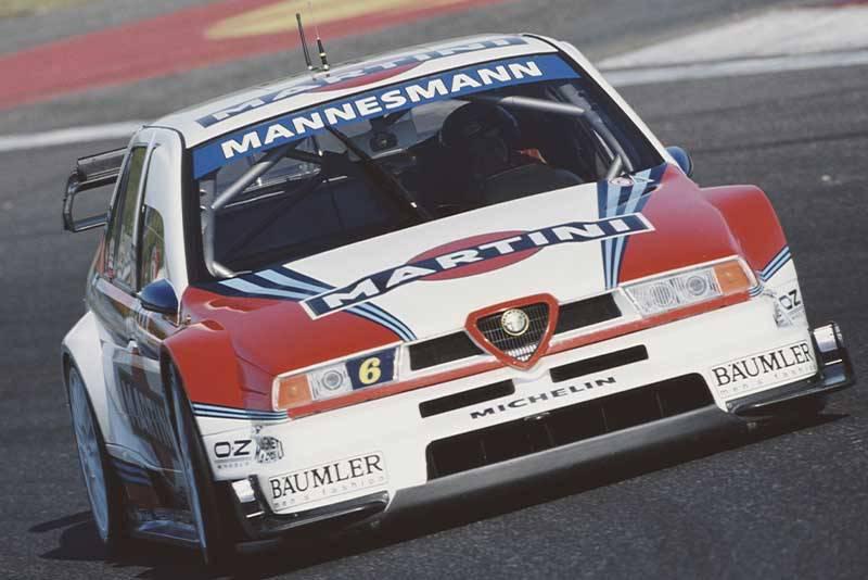 1996 Alfa Romeo 155 ITC car