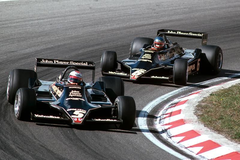 Mario Andretti, Ronnie Peterson, Dutch GP 1978