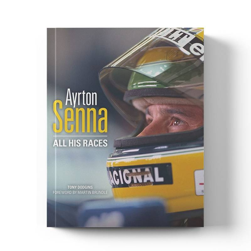 Product image for Ayrton Senna: All His Races | Tony Dodgins | Book | Hardback