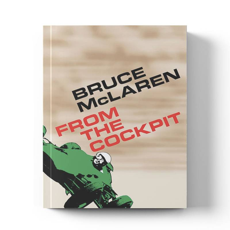 Product image for Bruce McLaren: From The Cockpit | Bruce McLaren | Book | Hardback