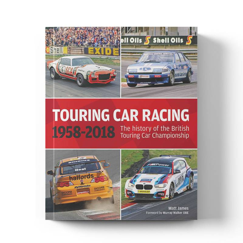 Product image for The history of the British Touring Car Championship: 1958–2018 | Book | Hardback