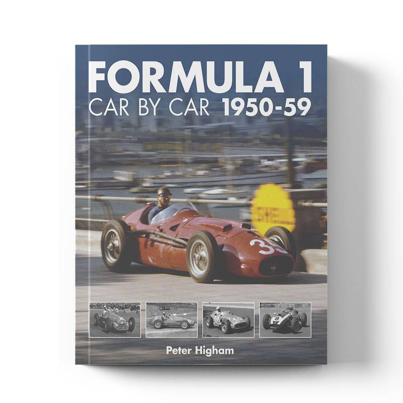 Product image for Formula 1 Car by Car: 1950–59 | Peter Higham | Book | Hardback