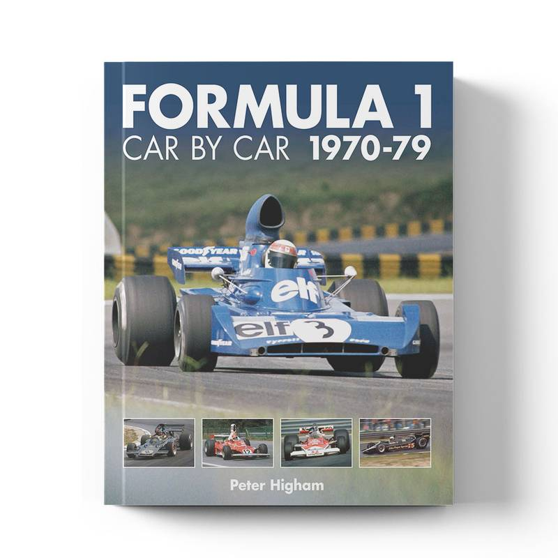 Product image for Formula 1 Car by Car: 1970–79 | Peter Higham | Book | Hardback