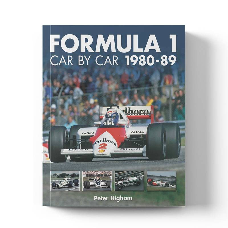Product image for Formula 1 Car by Car: 1980–89 | Peter Higham | Book | Hardback