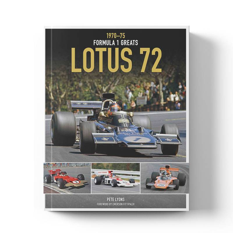 Product image for Lotus 72: 1970–75 | Pete Lyons | Book | Hardback