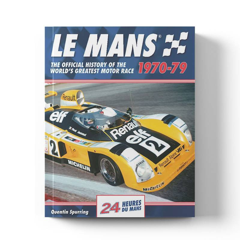 Product image for Le Mans: The Official History 1970–79 | Quentin Spurring | Book | Hardback