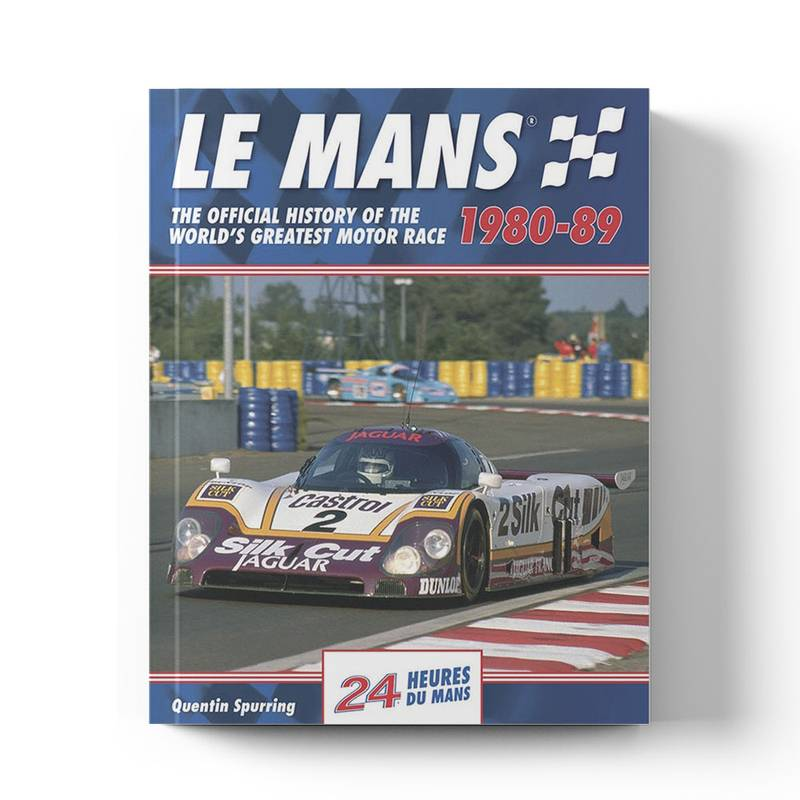Product image for Le Mans: The Official History 1980–89 | Quentin Spurring | Book | Hardback