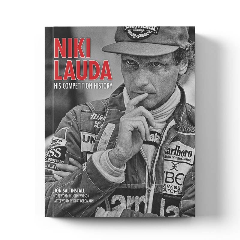 Product image for Niki Lauda: His Competition History | Jon Saltinstall | Book | Hardback