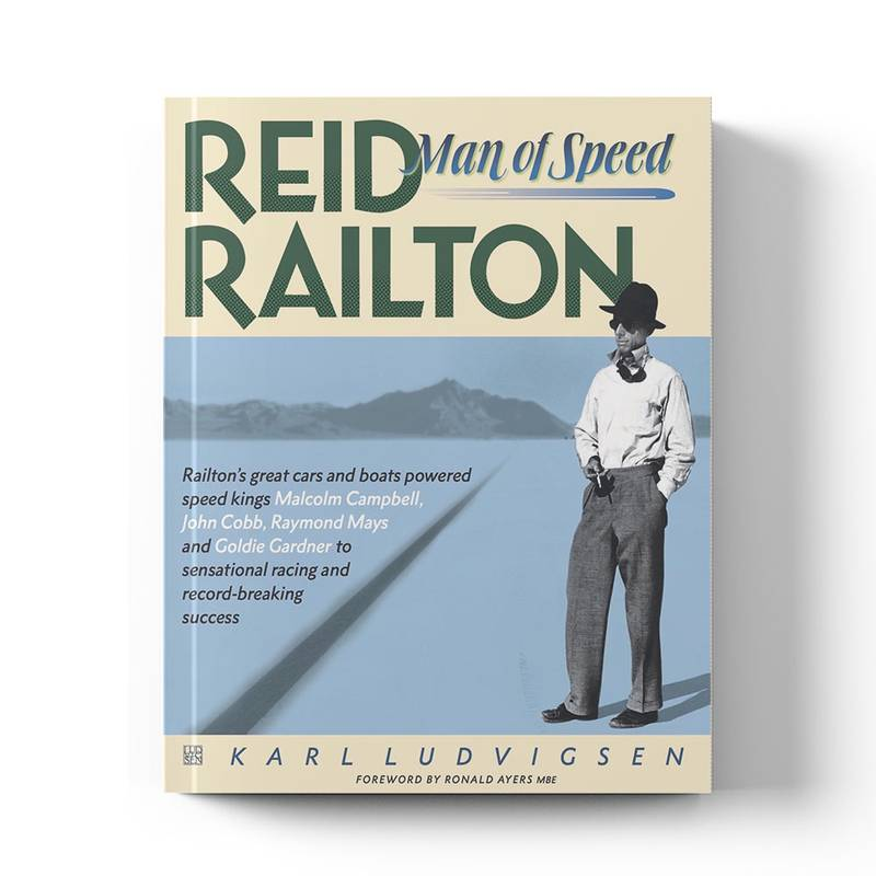 Product image for Reid Railton: Man of Speed | Karl Ludvigsen | Book | Hardback