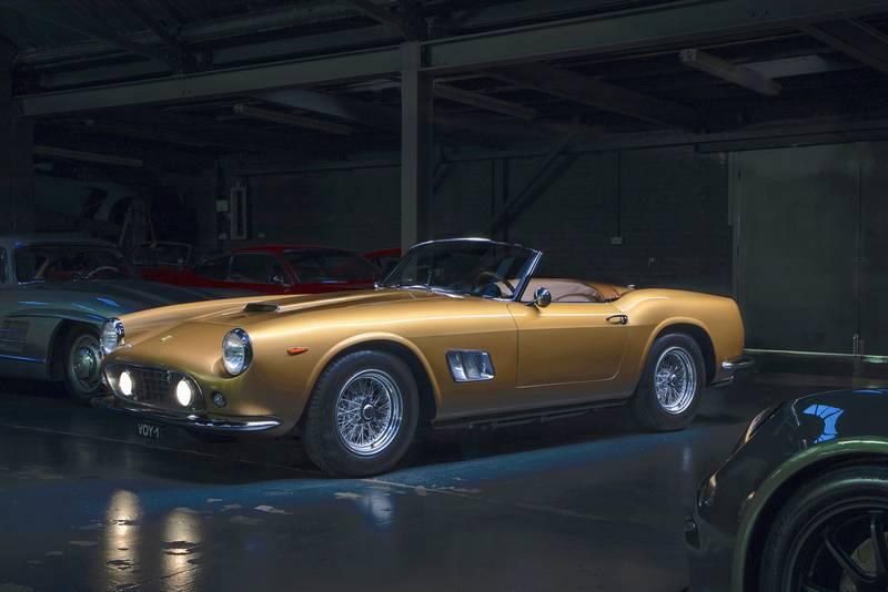 1961 Ferrari 250 GT California Spyder header