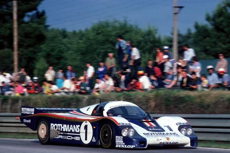 Porsche 956, Le Mans 1982